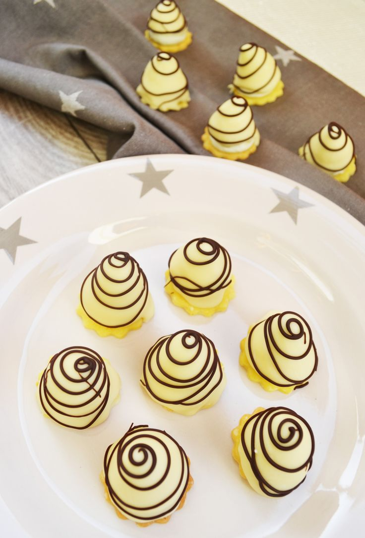 They must not be missing at Christmas! White chocolate toppings