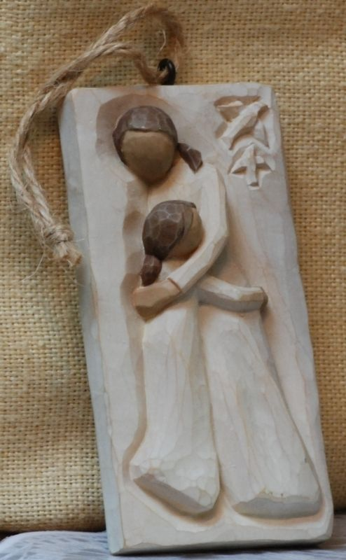 Willow Tree Mother and Daughter Angel Box from Grace on my birthday 2008