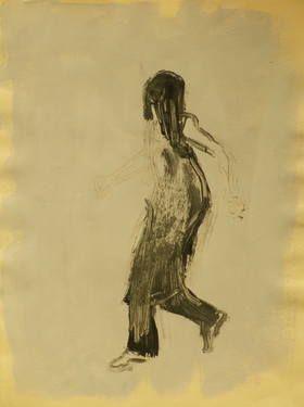 "Saatchi Art Artist Marta Zamarska; Drawing, ""Modern Dance XXV"" #art"