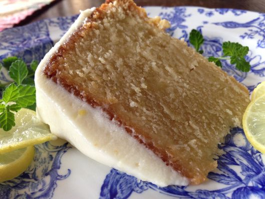 Key Lime Poundcake with Key Lime Cream Cheese Icing via The Irreverent Kitchen