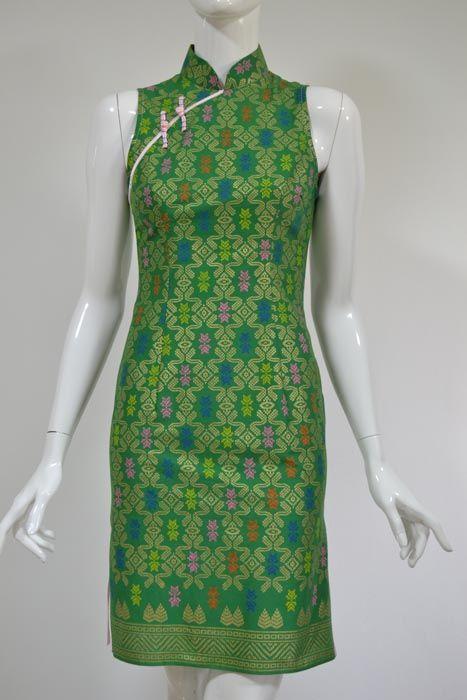 Batik Emerald qipao