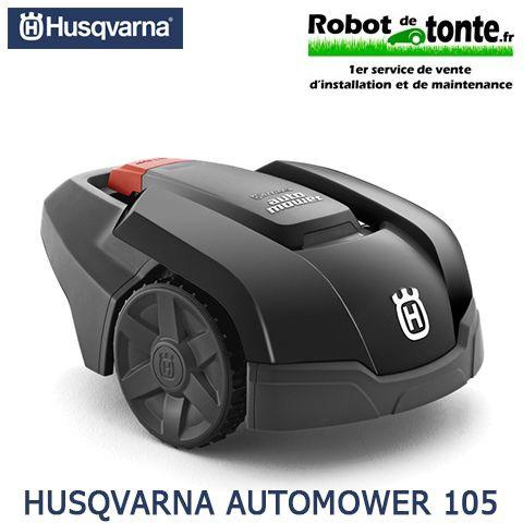 HUSQVARNA AUTOMOWER 105 La solution qui a fait ses preuves pour les petites surfaces urbaines... Particularités : • La station de charge est placée coté intérieur du câble périphérique donc visible dans la surface de tonte • Retour station par câble guide • Plate-forme 3 roues Surface de tonte maxi : 600 m² Longueur maxi de câble posé périphérique et guide : 300 m #TondeuseRobot #RobotDeTonte #HusqvarnaAutomower105 #Vente #Installation #Entretien