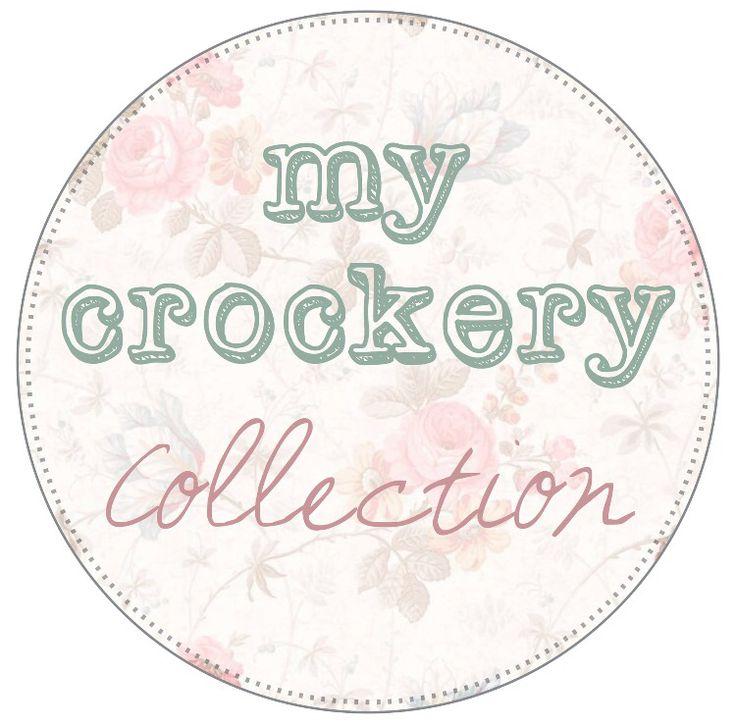My crockery collection logo.