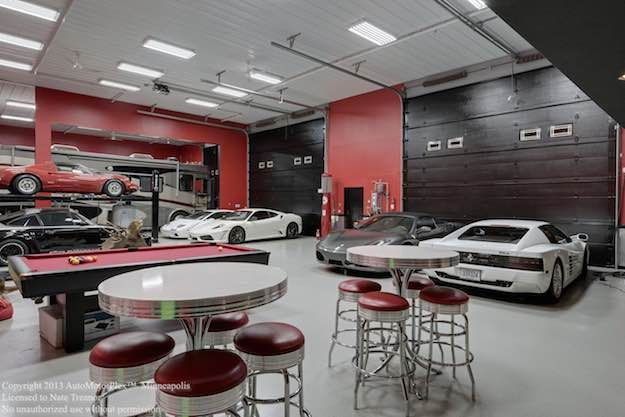 Automotoplex Luxurious Garage Interior Design : Perfectly Complete Your  Classy Dream Home Living With These Highly Contemporary Custom Luxury Homes  Garages ...