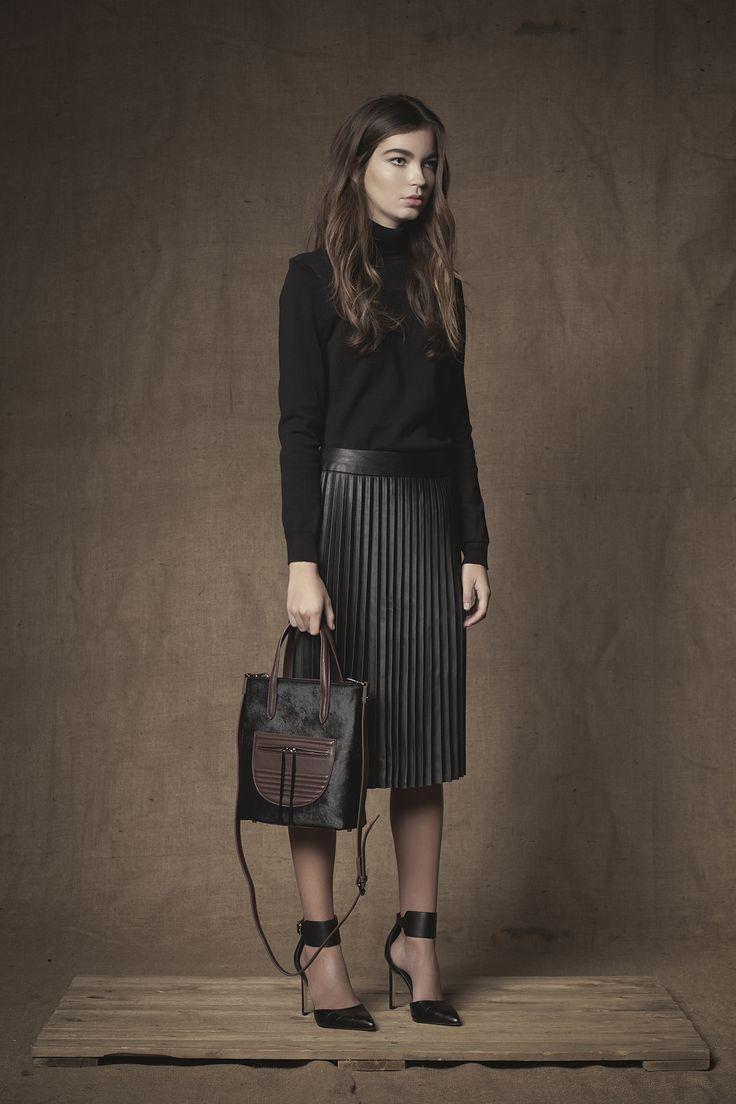 Monaco Mini Shopper #Mini #Shopper #FW15  #Leather #Calfhair #Handbag