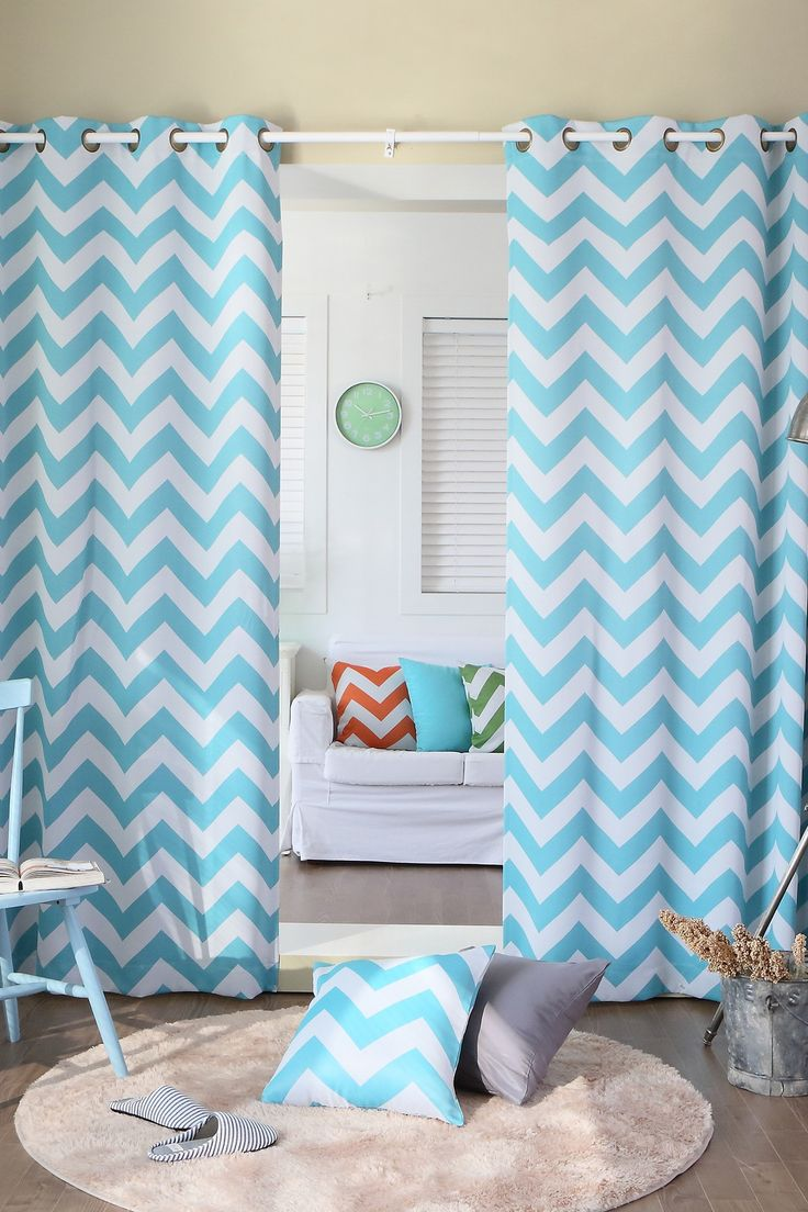 Curtain pair overstock shopping great deals on lights out curtains - Lights Out Chevron Print Room Darkening Grommet Top Curtain Panel Pair Overstock Shopping Great Deals On Lights Out Curtains