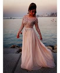 Afbeeldingsresultaat voor lange jurken met mouwen