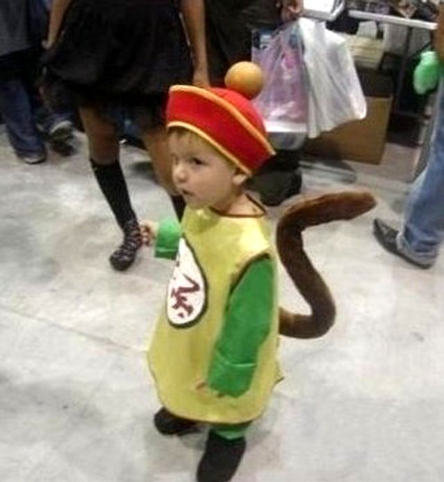9 Super Cute Kids In Dragon Ball Z Cosplay Little Boy Cosplaying As