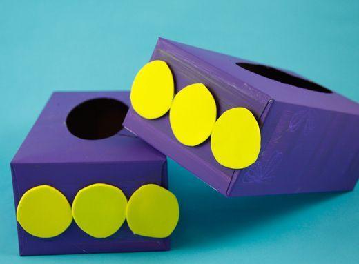 Dinosaur Crafts For Kids Barney S Dinosaur Feet Pbs