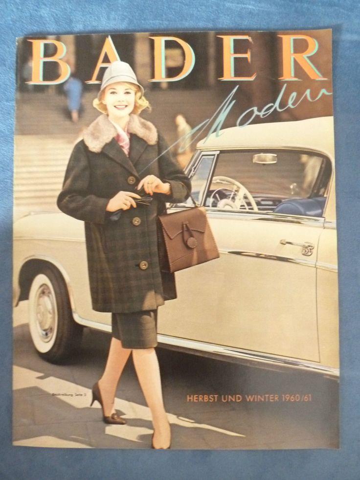 BADER Katalog - Herbst/Winter - 1960/61