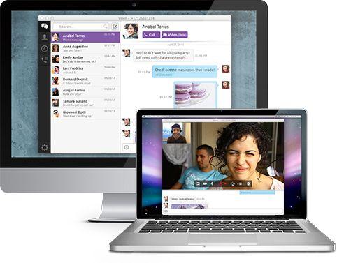 Viber maintenant sur PC et Mac, avec les appels vidéo