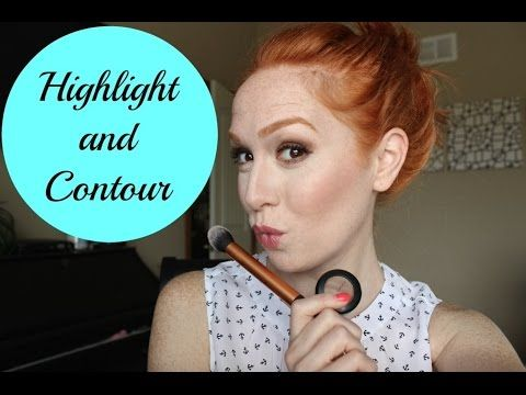 Hightlight and Contour for Fair Skin - YouTube