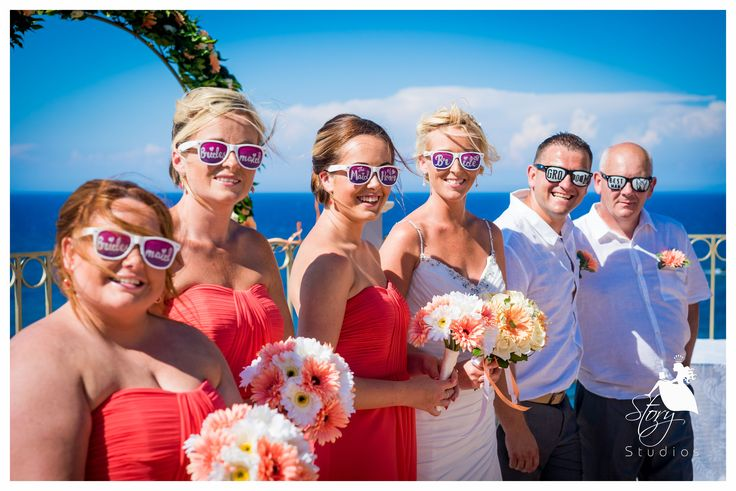 Fantastic sunglasses for your wedding party!