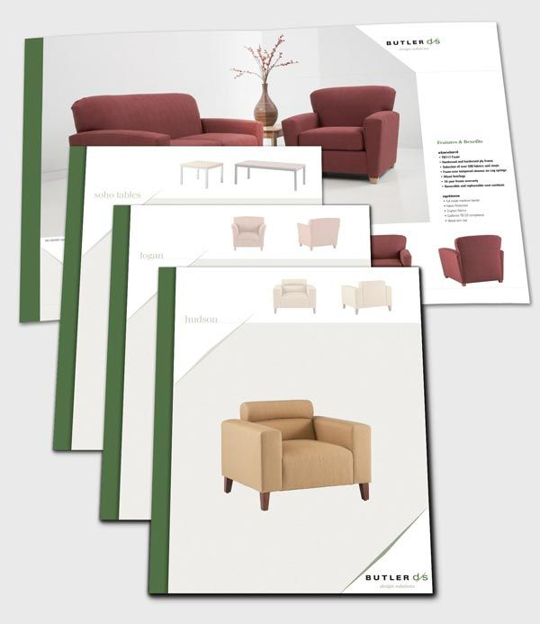 Furniture Catalogue and Brochure Design Example