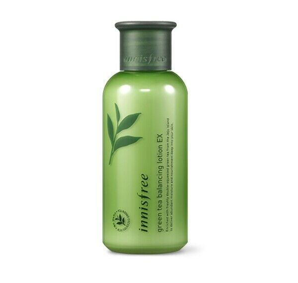 Innisfree Green Tea Balancing Skin Toner 200ml Lotion 160ml Ex Set Ebay Lotion Innisfree Nourish Skincare