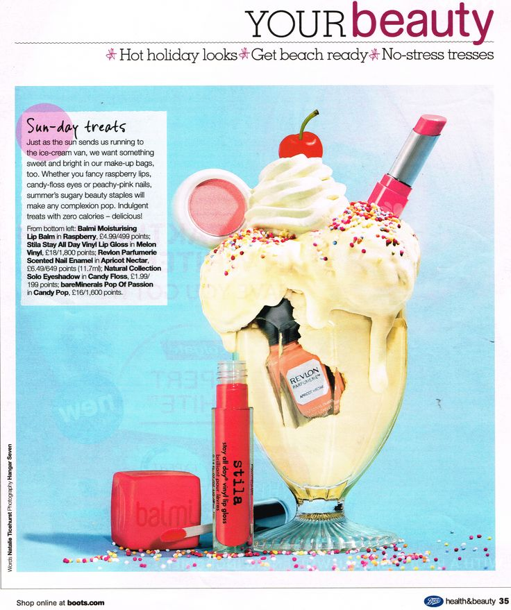 Balmi coverage in Boots Health & Beauty magazine on 07.07.15