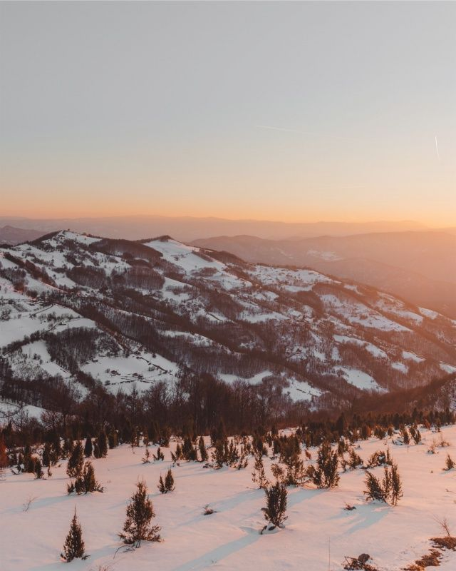 VSCO – My favorite hobby is watching sunsets 🧡✨ || #travel #traveling #explore #livefolk #mountains #sunset #sunrise #snow #wanderlust #serbia #landscape | jovanvasiljevic