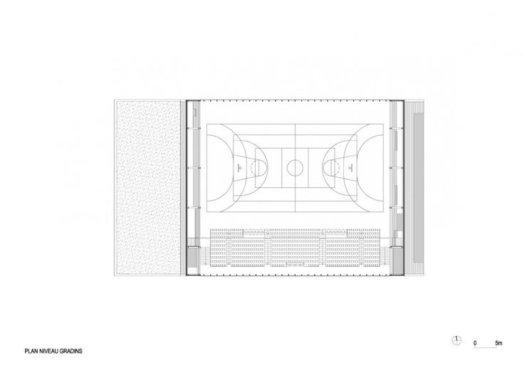Monconseil Sports Hall / Explorations Architecture