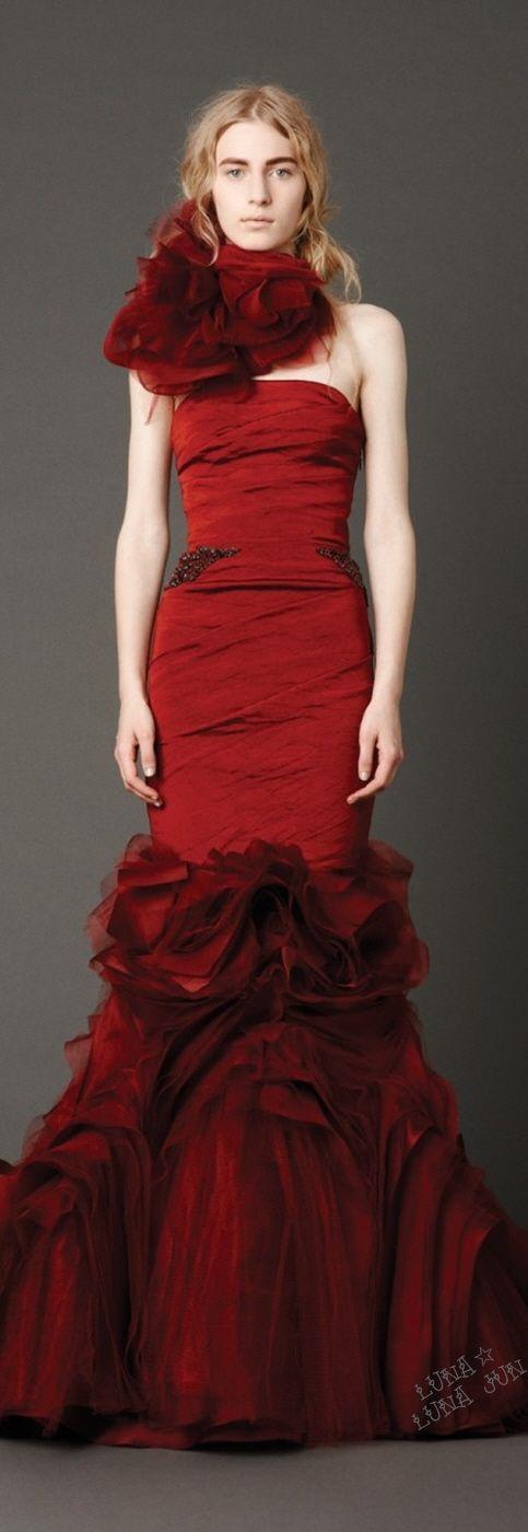 Vera Wang Cocktail Dresses 2013