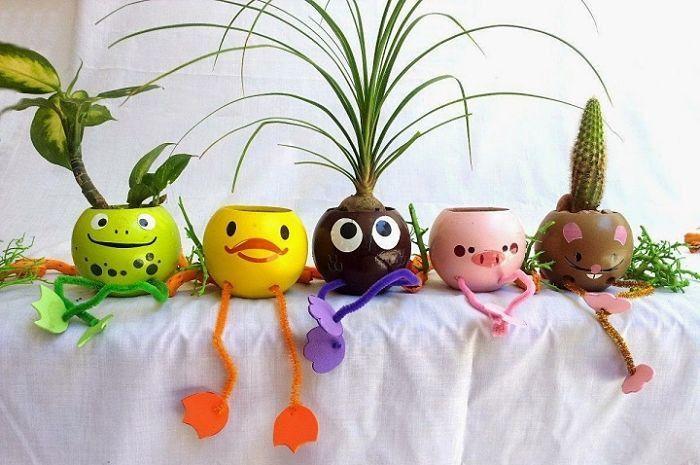 Manualidades Para Hacer En Casa Manualidades Para Hacer En Casa Resultado De Imagen Ideas Trabajos Flower Pot Crafts Bottle Crafts Recycled Crafts