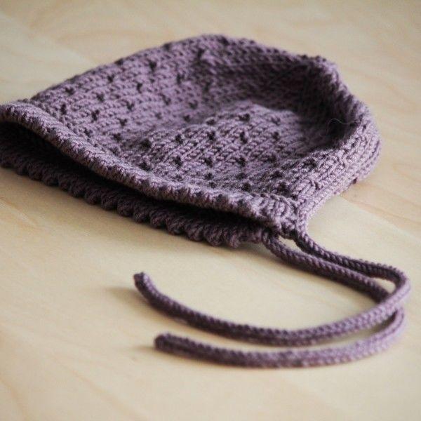Béguin de printemps 4 tailles - tricot gratuit - Modèles de tricot chez Makerist