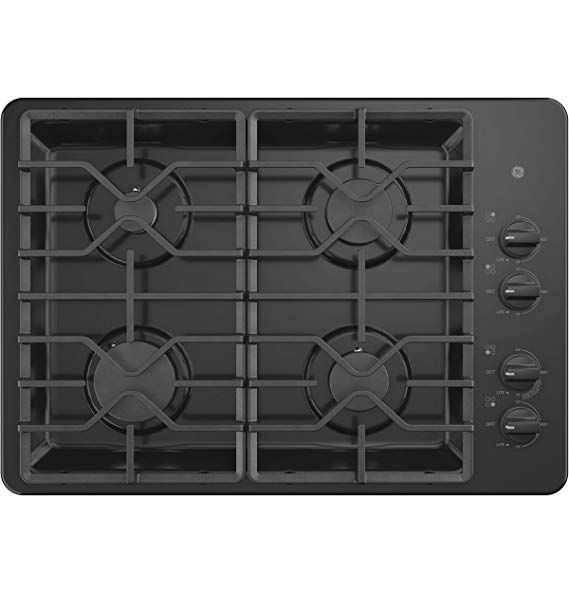 Ge Jgp3030dlbb 30 Inch Gas Cooktop With Max System Power Broil Simmer Continuous Grates Sealed Burners And Ada Compliant Gas Cooktop Cooktop Ge Appliances