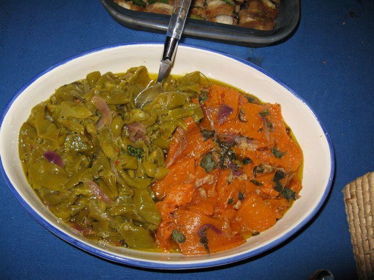 Peperoni e zucca in agrodolce