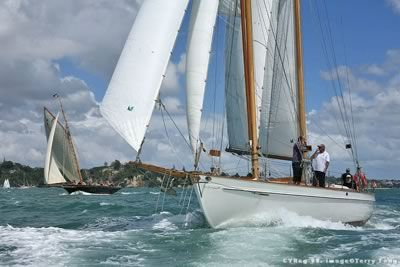 Arcturus, a classic Alden schooner based in the Viaduct Harbour, Auckland, New Zealand. http://www.classicboatcharter.com/Hauraki-Gulf-eco-cruise.htm