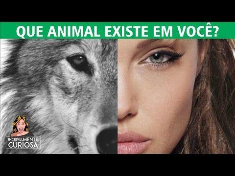 QUE ANIMAL EXISTE EM VOCÊ? TESTE PSICOLÓGICO E PERSONALIDADE - YouTube