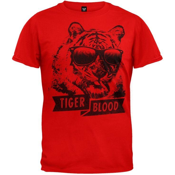 Charlie Sheen - Tiger Blood T-Shirt