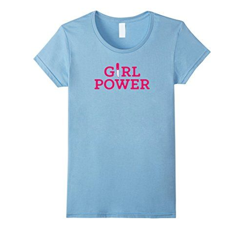 Women's Girl Power Feminist Women's Day T-Shirt Small Bab...