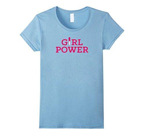 Women's Girl Power Feminist Women's Day T-Shirt Small Bab...