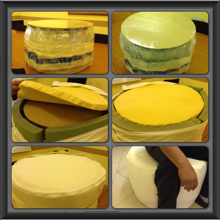 The Breakers shows us how to make an eco-friendly, comfortable stool!