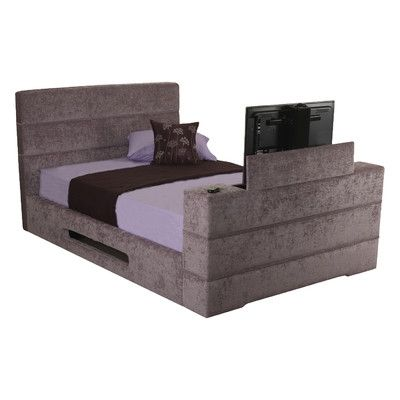 All Home Mazarine TV Bed Frame & Reviews | Wayfair UK