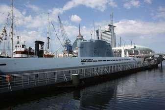 "Technical Museum Submarine ""Wilhelm Bauer"", Bremerhaven, Germany"