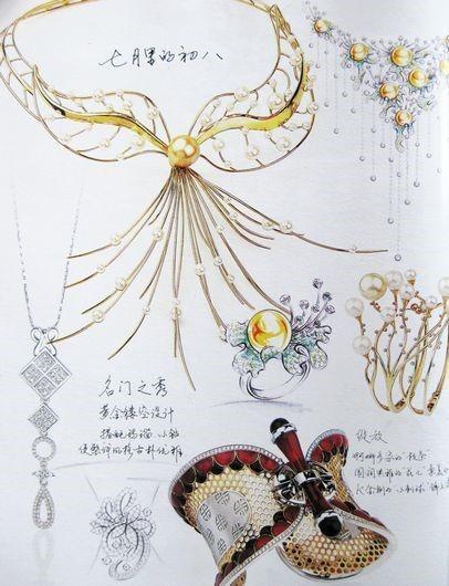 E0d0ce04ad2b6da136c585ff8d8bc89c.jpg (406u00d7530) | Jewellery Sketch | Pinterest