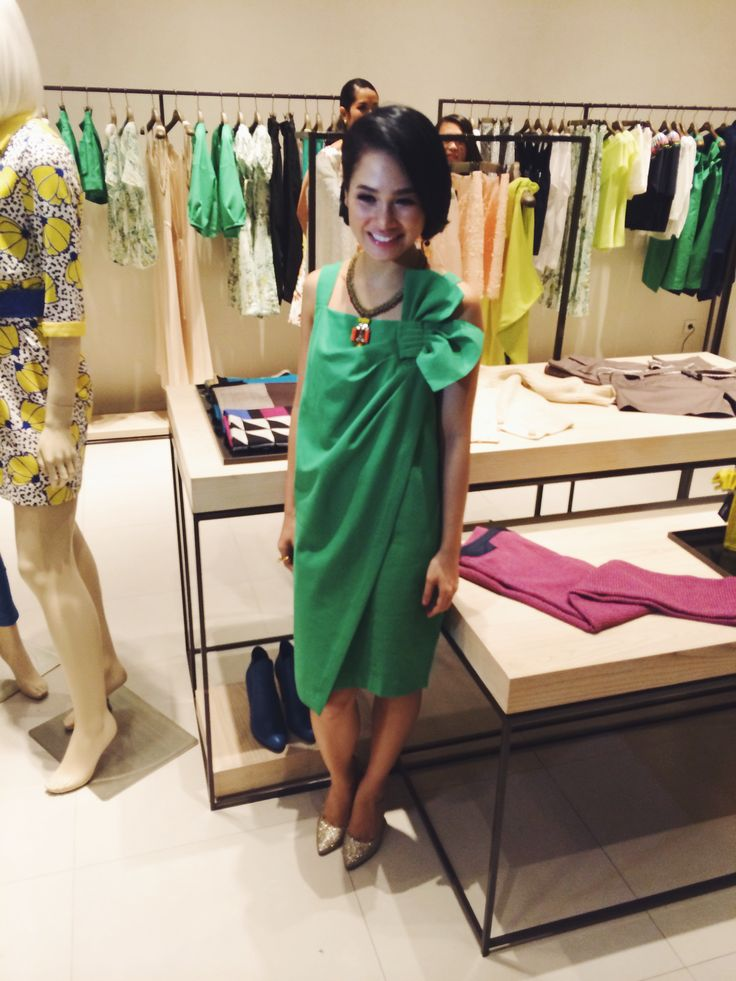 The always beautiful and lovely andien aisyah at yesterday's event