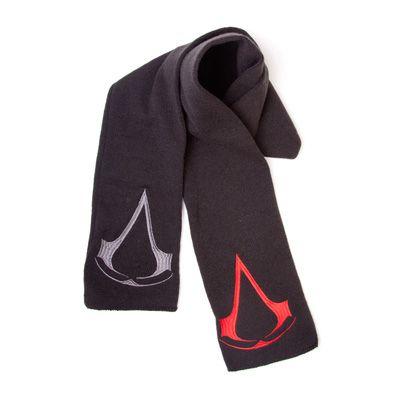 Assassin's Creed - 2 Logo zwarte sjaal - Games merchandise