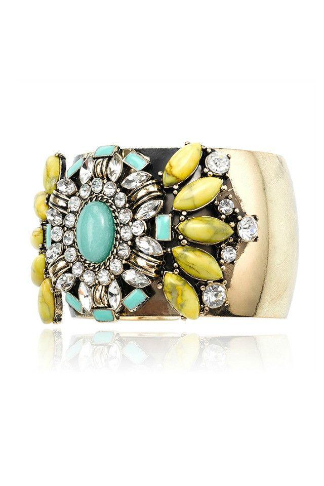Samantha Wills Magic Rush Cuff - Turquoise AUD$180.00 available at www.carouselbondi...