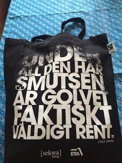 Eva Swedenmarks Värld: Pank på pengar, rik på läsning efter besök på Stoc...