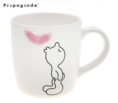 Propaganda Mr P Ceramic Coffee Mug - Kiss. #FreeShipping
