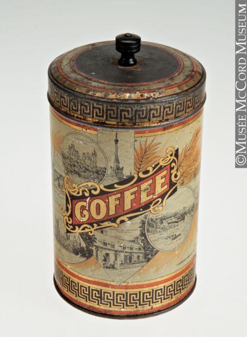 Coffee Tin        Canada, 1905        The McCord Museum