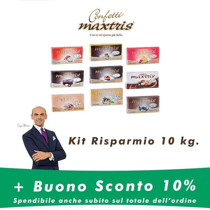 Clicca sul link http://bit.ly/1S3drLX  e scopri l'offerta per la tua #Confettata #Maxtris