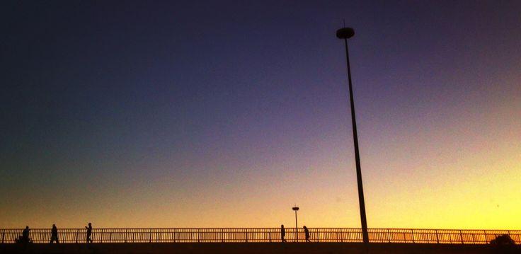 M1 Bridge Silhouettes