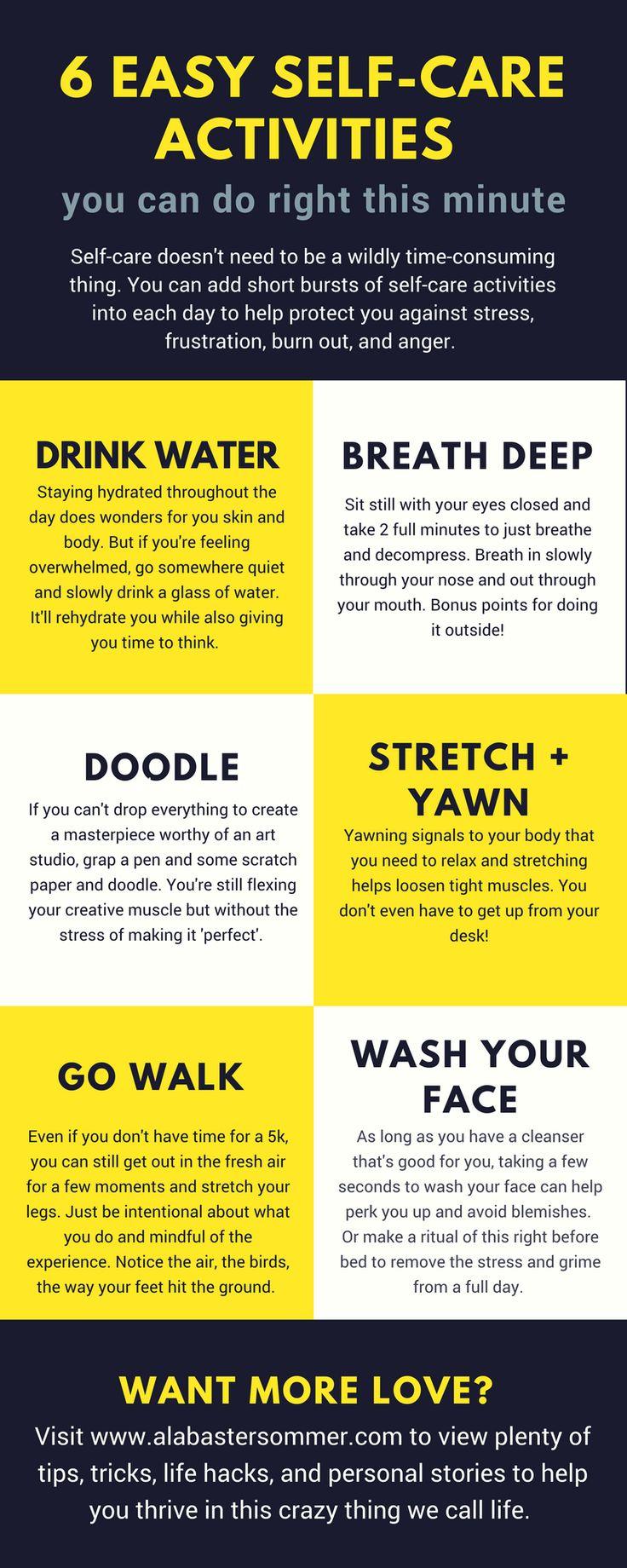Best 25+ Self care activities ideas on Pinterest