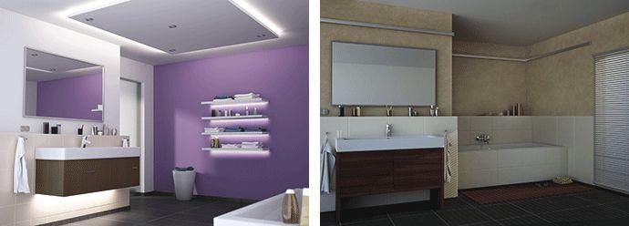 led-beleuchtung im bad | zu hause | pinterest | the o'jays, Innenarchitektur ideen