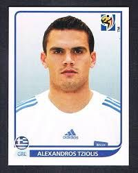 Image result for 2010 panini greece tziolis