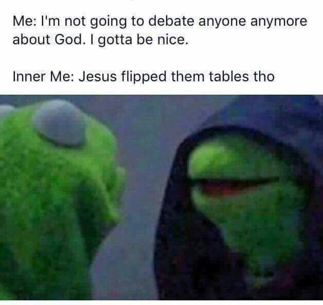 evil kermit the frog meme