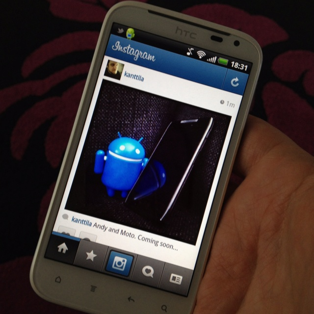 Instagram on Android!