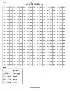 Free Coloring Pages Counting And Pixel Art Math For Kids Coloring Pages Math Coloring